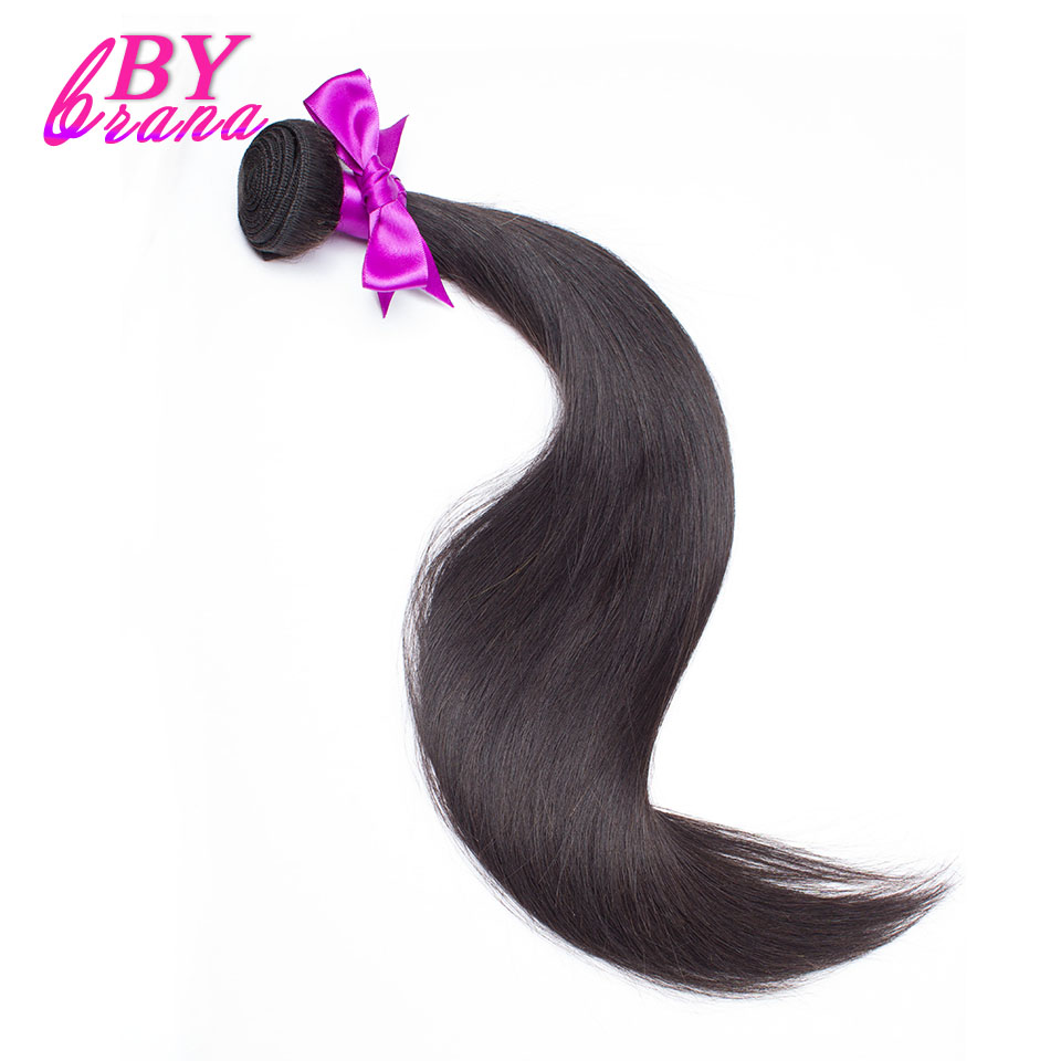 28 30 32 40 Inch Indian Straight Hair 1/3/4 Bundles Deal Bybrana Human Hair Extensions One Remy Raw Indian Hair Weave Bundles ...