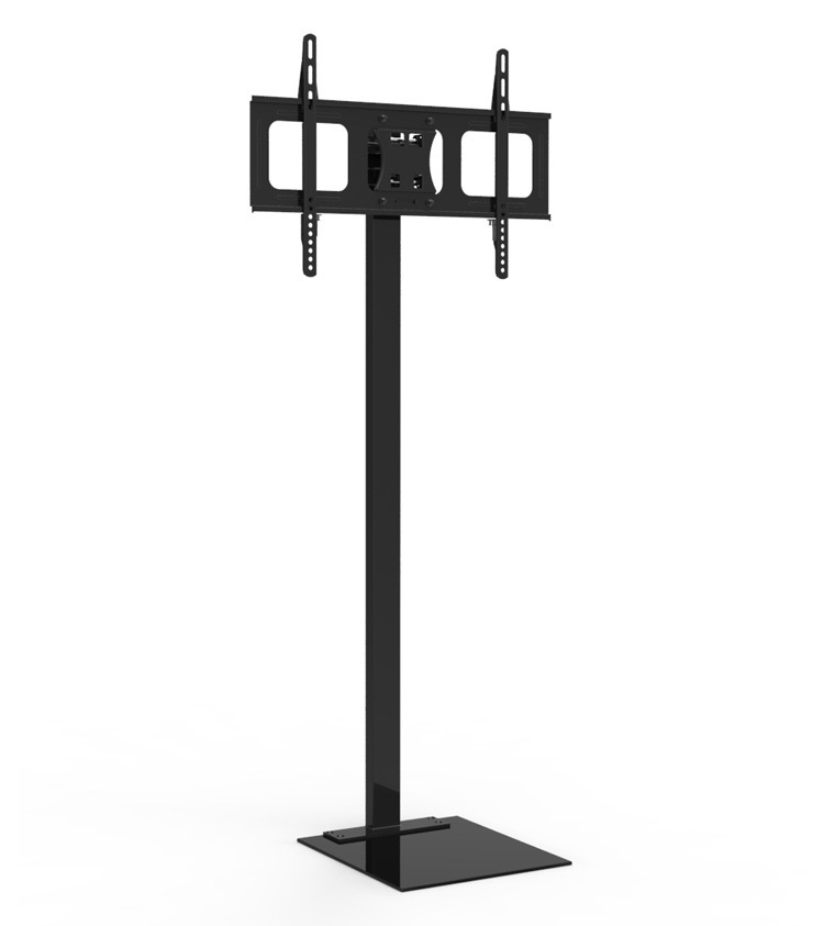 Aliexpress Com 37 60inch Glass Led Lcd Plasma Tv Stand Floor Mobile Mount  From Reliable Touch