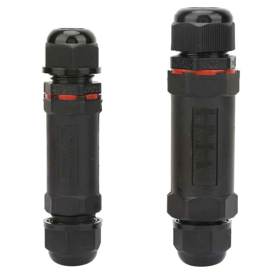 2 rozmiary 3Pin 5Pin IP68 wodoodporne złącze elektryczne drutu kabel Sealed opóźniające skrzynki przyłączeniowe