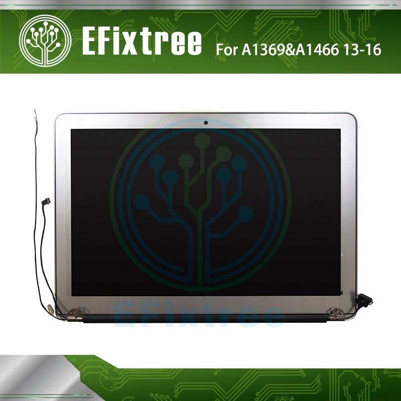 Véritable LCD LED Assemblée D'affichage de L'écran Pour Apple MacBook Air 13 A1466 2013 2014 2015 2016 Année MD760 MJVE2 Pleine Testé