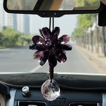 Car pendant crystal high grade ladys interior ornament car