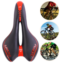 New Bike Saddle Road Mountain MTB Gel Comfort Sport Bicycle Seat Riding PVC Fabric Cycling Cushion Accessories