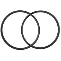 Carbon Wheel Factory Retail Asymmetric 33mm Width 29 MTB Hookless Tubeless Carbon Mountain Mtb Wheel rim only