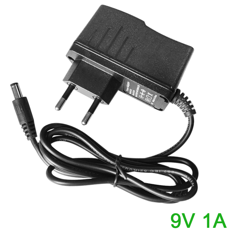 FGHGF AC adapter 9V 1A AC/DC Adapter Switching Power Supply Travel Power Adapter for Router, Arduino PC charger with 5.5mm 120w ac power adapter charger for hp ppp016l e pa 1121 42hq ppp016c ppp016h pc charger 18 5v 6 5a