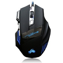 Профессиональная Проводная игровая мышь светодиодный мышь 7 кнопок 2500 точек/дюйм светодиодный оптический USB компьютерная мышь геймер мышь игровая мышь