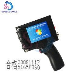 Commercial hand jet printer expiry date printing/manual barcode scanner printer/handheld coding machine