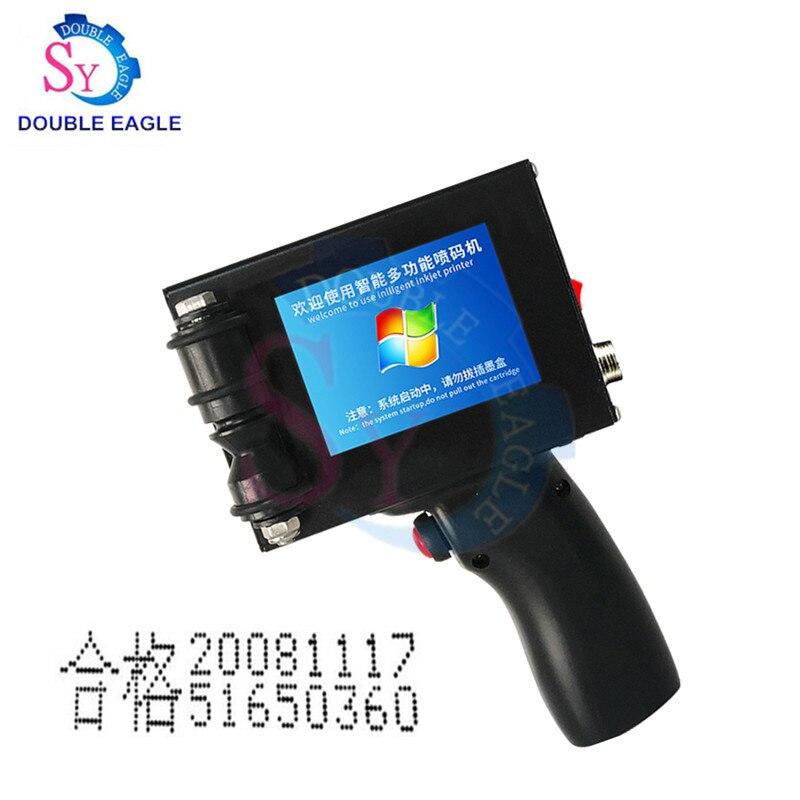Wysoka wydajność produkcji maszyna do kodowania daty/ręczny laserowy maszyna do pisania taśma przenośnika/cap produkcji drukarka daty linii montażowej