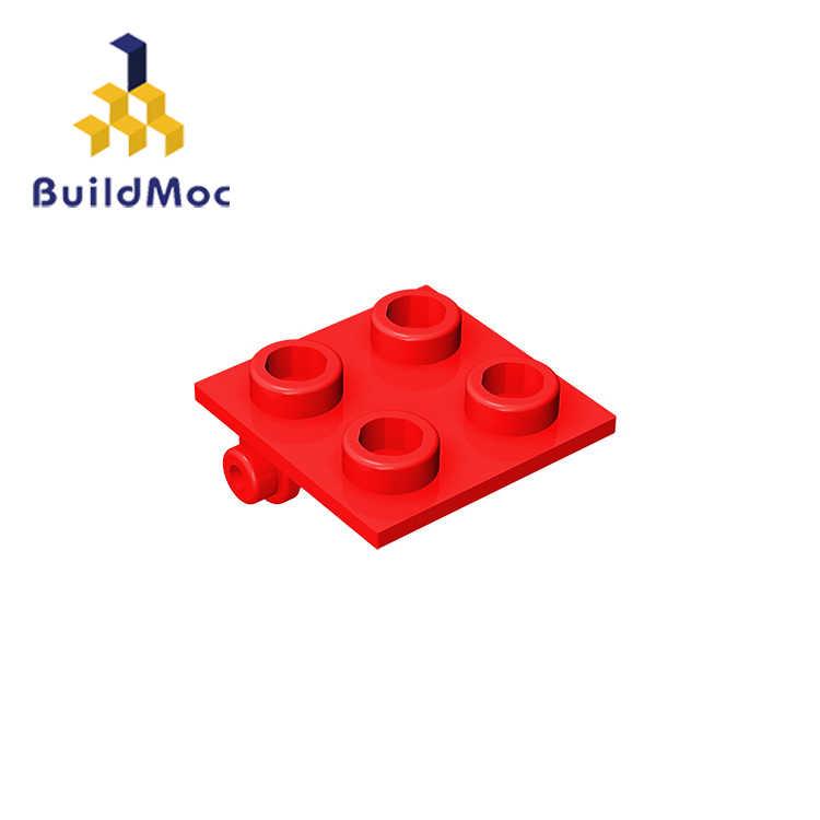 Buildmoc Kompatibel Mengumpulkan Partikel 6134 3941 2X2 untuk Bangunan Blok Bagian Logo Logo Pendidikan Tech Bagian Mainan
