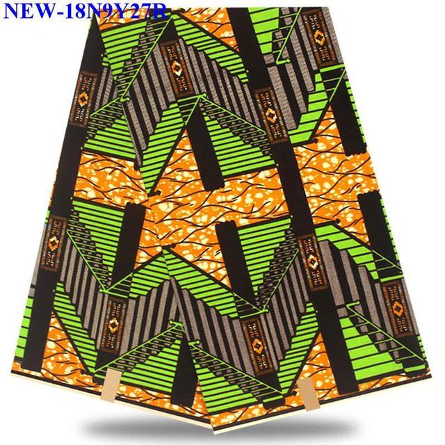 2018 latest 100% cotton african fabric wax /african hollandais real dutch super wax hollandais AA-DM7 3