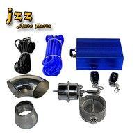 Jzz Universal Vakuum Antrieb 2 5 zoll 3 inch Control Elektrische Abgas Ventil Pumpe Zu Ändern Sound Mit Wireless Edelstahl Ausschnitt-in Schalldämpfer aus Kraftfahrzeuge und Motorräder bei