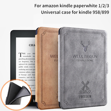 Cases For Kindle Paperwhite 1 2 3 Case Cover 6 Inch E-book Shell for Amazon Kindle Paperwhite Silicone Soft Protective Shell ultra thin pu leather cover case protective shell skin for amazon kindle paperwhite 1 2 paperwhite3 new model free stylus film
