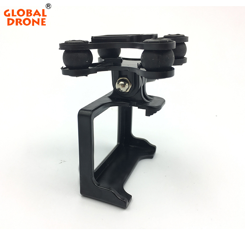 Global Drone Accessory Plastic Gimbal for GW180 RC Drone Series with Camera Holder Compatible