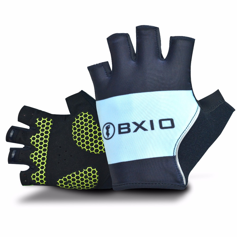2018 New Arrival BXIO New Cycling <font><b>Gloves</b></font> With Gel Pad Palm Pro Bike Team Half Finger <font><b>Gloves</b></font> Summer MTB Bike <font><b>Gloves</b></font> BX-ST57
