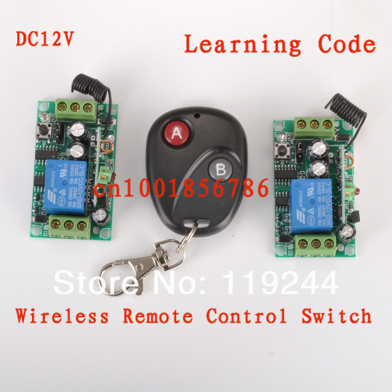 DC12V1CH RF Wireless Remote Control Switch System 2Receivers&Transmitter M4/ T4/ L4 adusted Learning Code Gateway Access System 2 receivers 60 buzzers wireless restaurant buzzer caller table call calling button waiter pager system