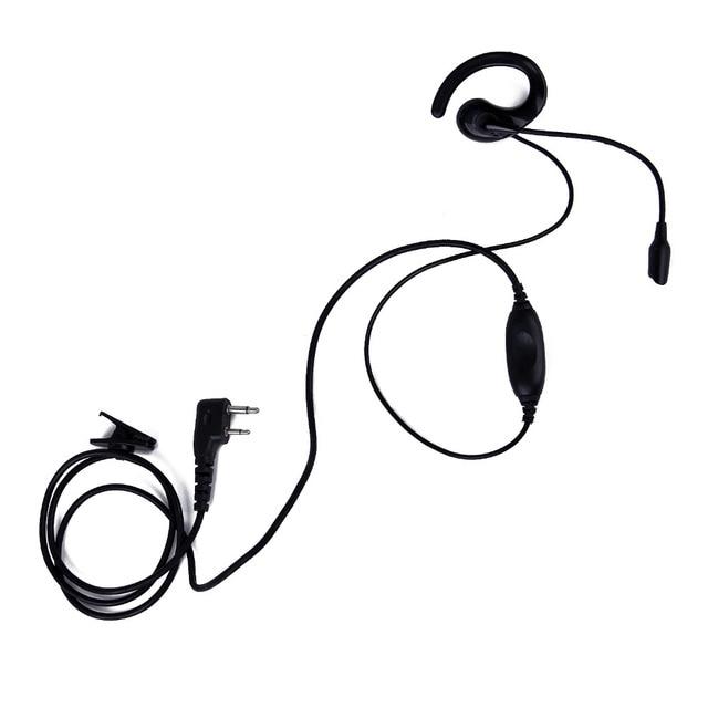 Imitation k head ab ear hook earpiece with 2 pin ptt microphone imitation k head ab ear hook earpiece with 2 pin ptt microphone headset for kenwood baofeng publicscrutiny Choice Image