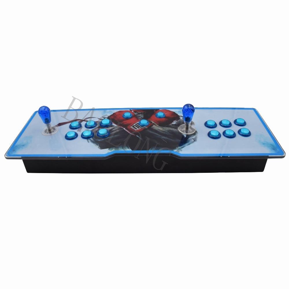 1388 jeux Pandora box6s console de jeu pour 1-2players avec bouton lumineux arcade station de jeu console de jeu pour l'amusement