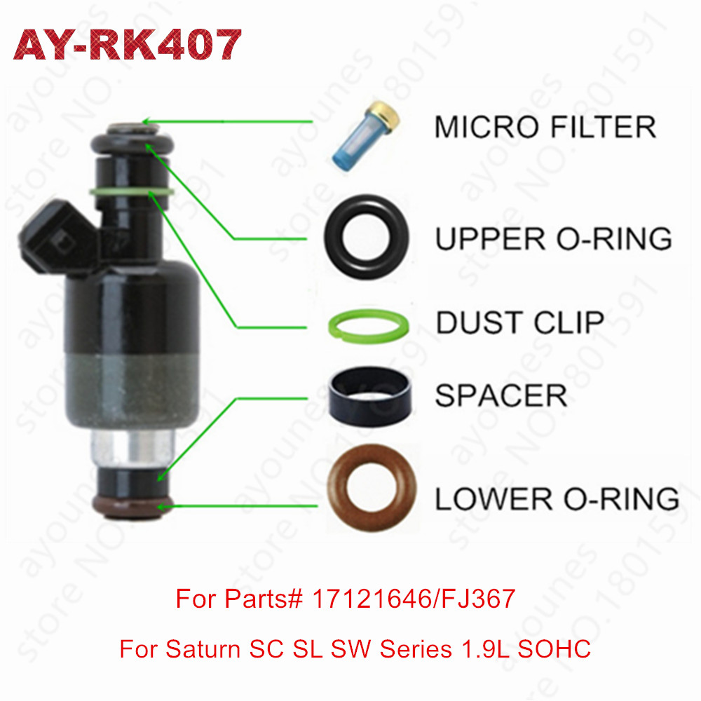 Fuel Injector Repair Kit for Injector Part # 17103412