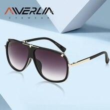 AIVERLIA Gafas de sol de Estilo Vintage para hombre, anteojos de sol masculinos de marca de diseñador, UV400 con gradiente, lentes masculinos AI41