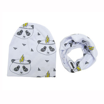 Baby Boy's Printed Cotton Hat 5