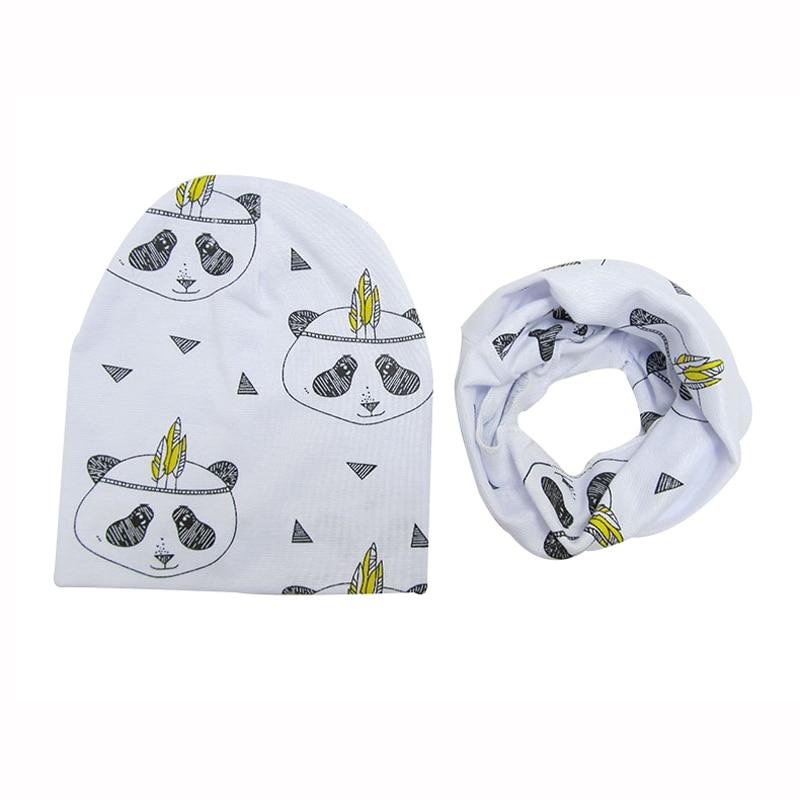 Primavera otoño algodón bebé Beanie sombreros de dibujos animados - Ropa de bebé - foto 4