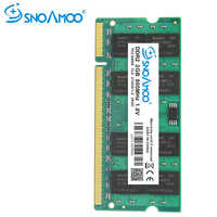 SNOAMOO Notebook Memory 2G 4G 667MHz PC2-5300S DDR2 800MHz PC2-6400 200Pin DDR2 CL6 1.8V SO-DIMM Laptop RAMs Lifetime Warranty