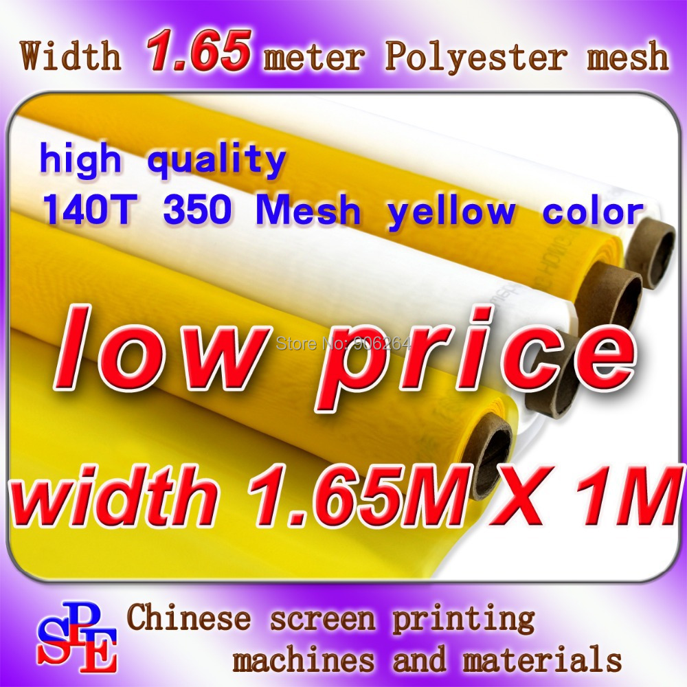 купить Cheap and Discount 140T 350M Polyester Silk Screen Printing Mesh 165cm Width недорого