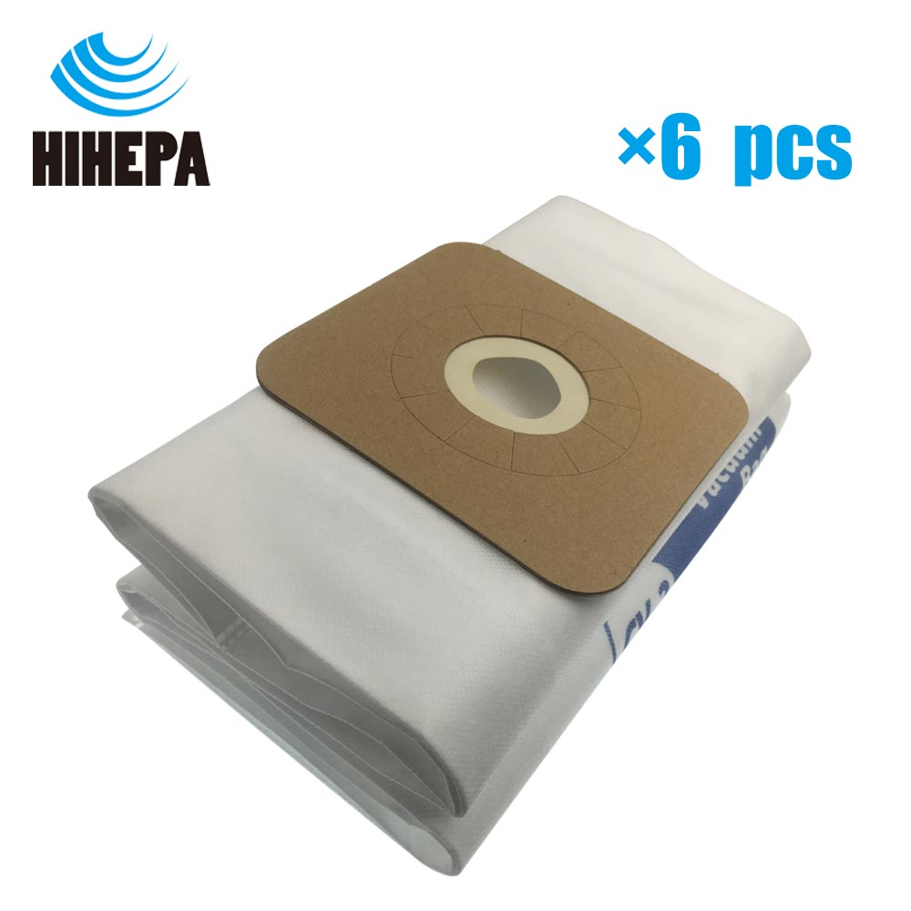 6pcs/lot CV-2 Vacuum Cleaner Filter Dust Bags for Kenmore S107 & Eureka ECV5200A-5500A CV1004/1801/2104/3120/3221/3291/3391/5500 type c fit kenmore 50558 sears canister vacuum cleaner bags model 20 50558 50557