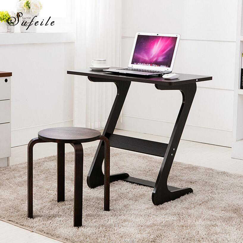 SUFEILE Home Computer Desk Laptop Stand Office Study Writing Desk Laptop Computer Desk New Design For Working Standing D50