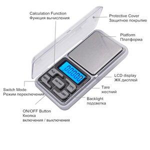 Image 4 - 50 stks/partij 0.01g 200g Digitale Wegen Pocket Sieraden Weegschaal LCD display met achtergrondverlichting balance Met doos 20% off