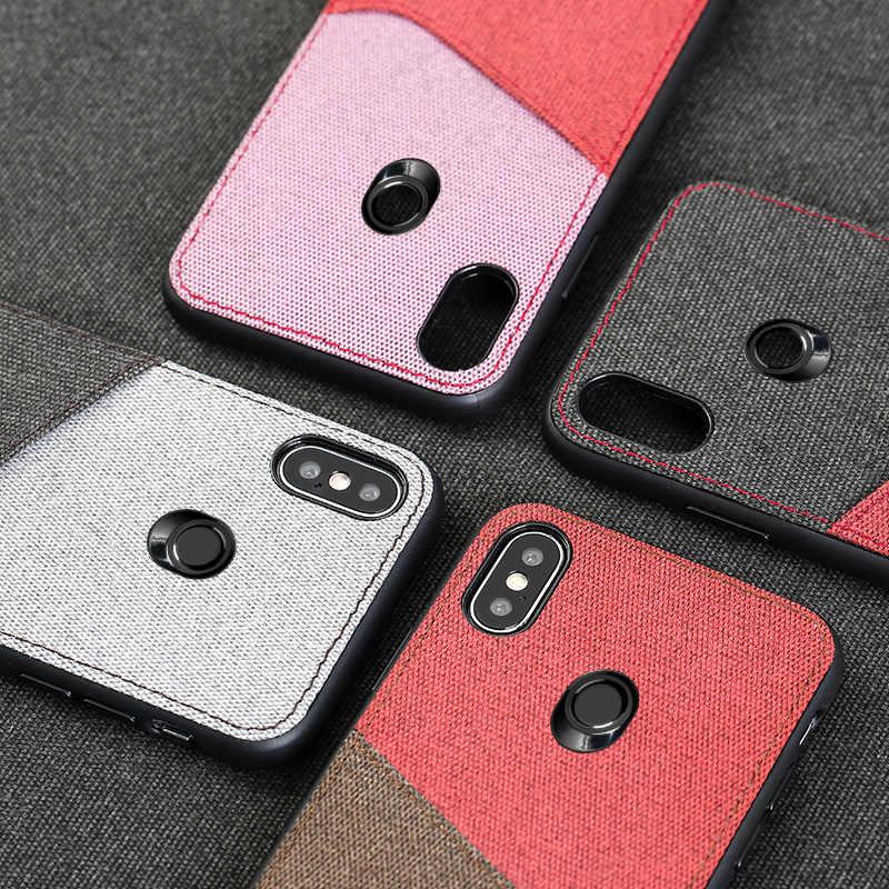 Tela slot per scheda Magnetica della cassa del telefono Per Xiaomi Redmi nota 9 s 9 pro 8 8t 4X k20 di affari copertura Per Mi 9T 9 SE nota 10 A3 9Lite