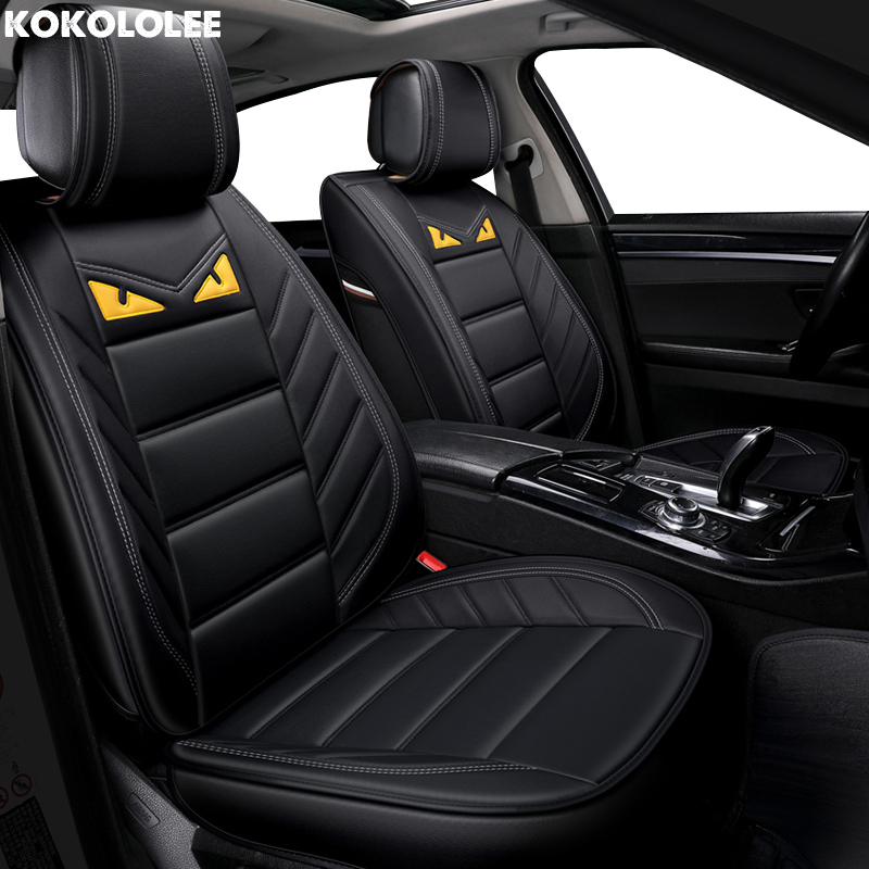 [KOKOLOLEE] auto car seat covers For opel vectra b subaru forester bmw f30 daewoo nexia vw polo 6r car accessories car-styling luxury leather car seat cover for auto mercedes w212 bmw f30 vw tiguan golf polo bmw g30 skoda cars accessories car styling