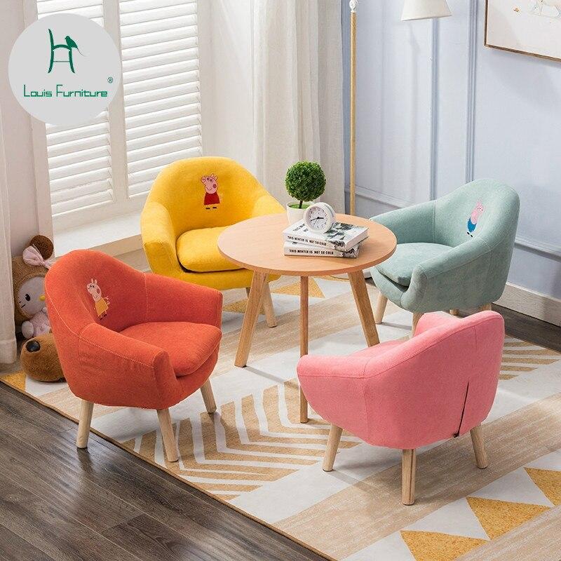 Louis Fashion Children's Sofa Chair Mini Cartoon Lazy