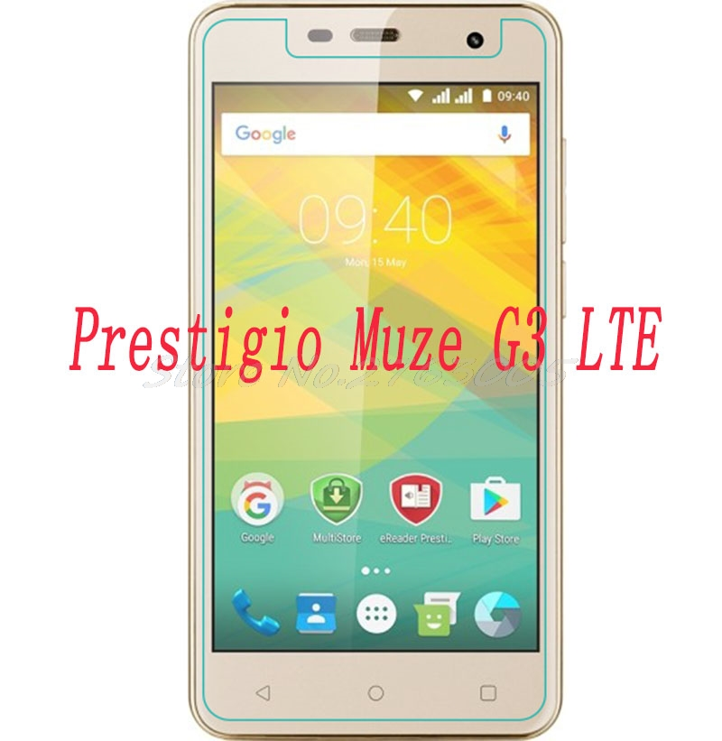 2PCS NEW Screen Protector phone For <font><b>Prestigio</b></font> <font><b>Muze</b></font> <font><b>G3</b></font> <font><b>LTE</b></font> <font><b>PSP3511</b></font> <font><b>DUO</b></font> PSP 3511 Tempered Glass SmartPhone Film Protective Cover image