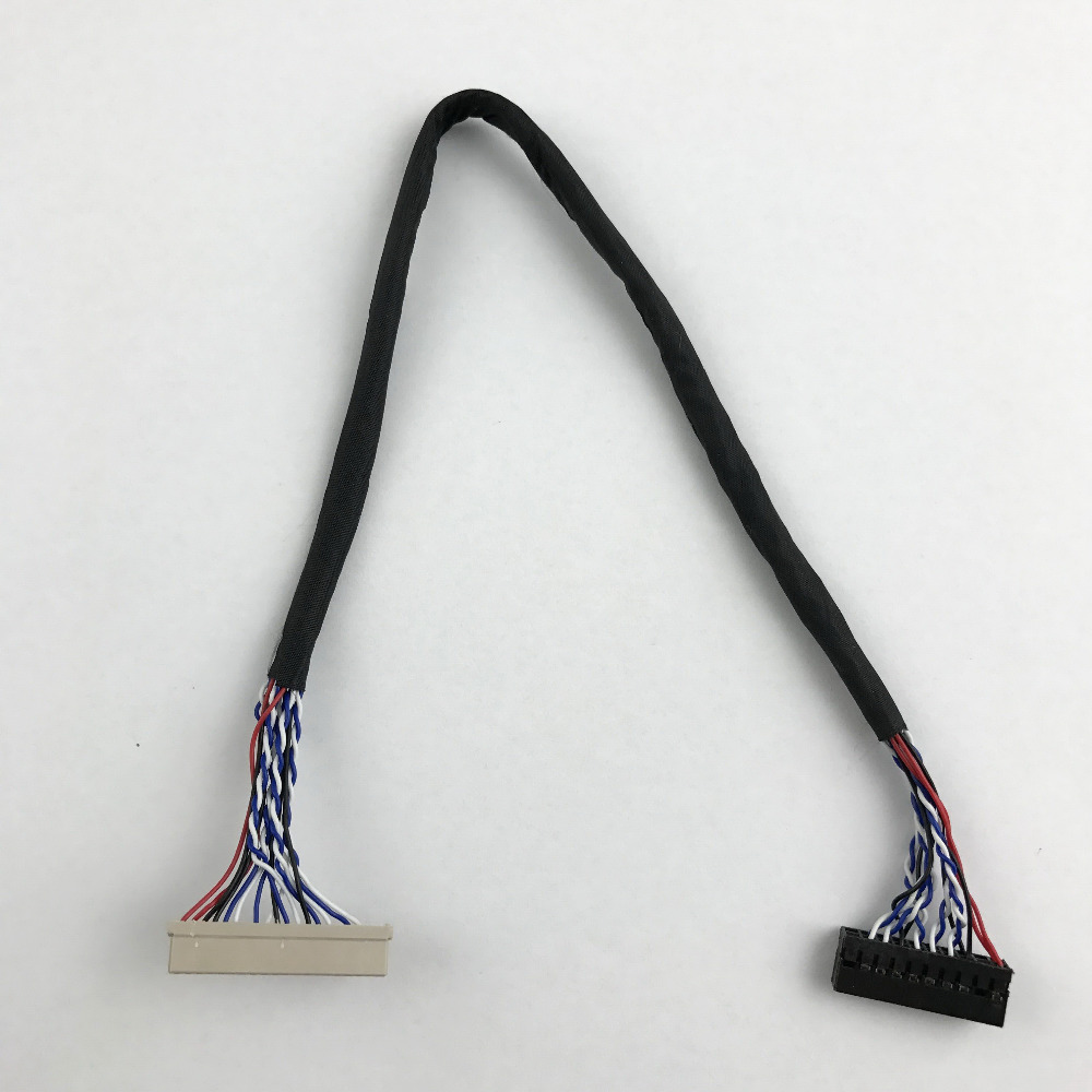 LVDS (1 Ch, 8-bit) 20 Pins  Lvds Cable Screen Cable