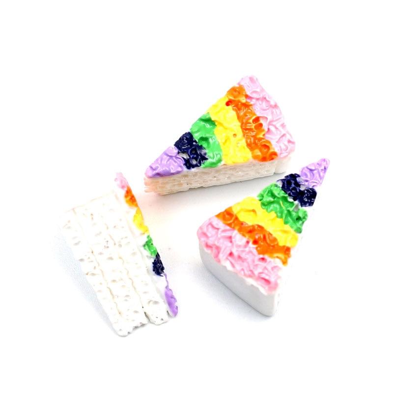 20Pcs Mixed Resin Cake Decoration Craft Flatback Cabochon Embellishments For Scrapbooking Kawaii Cute Diy Accessories
