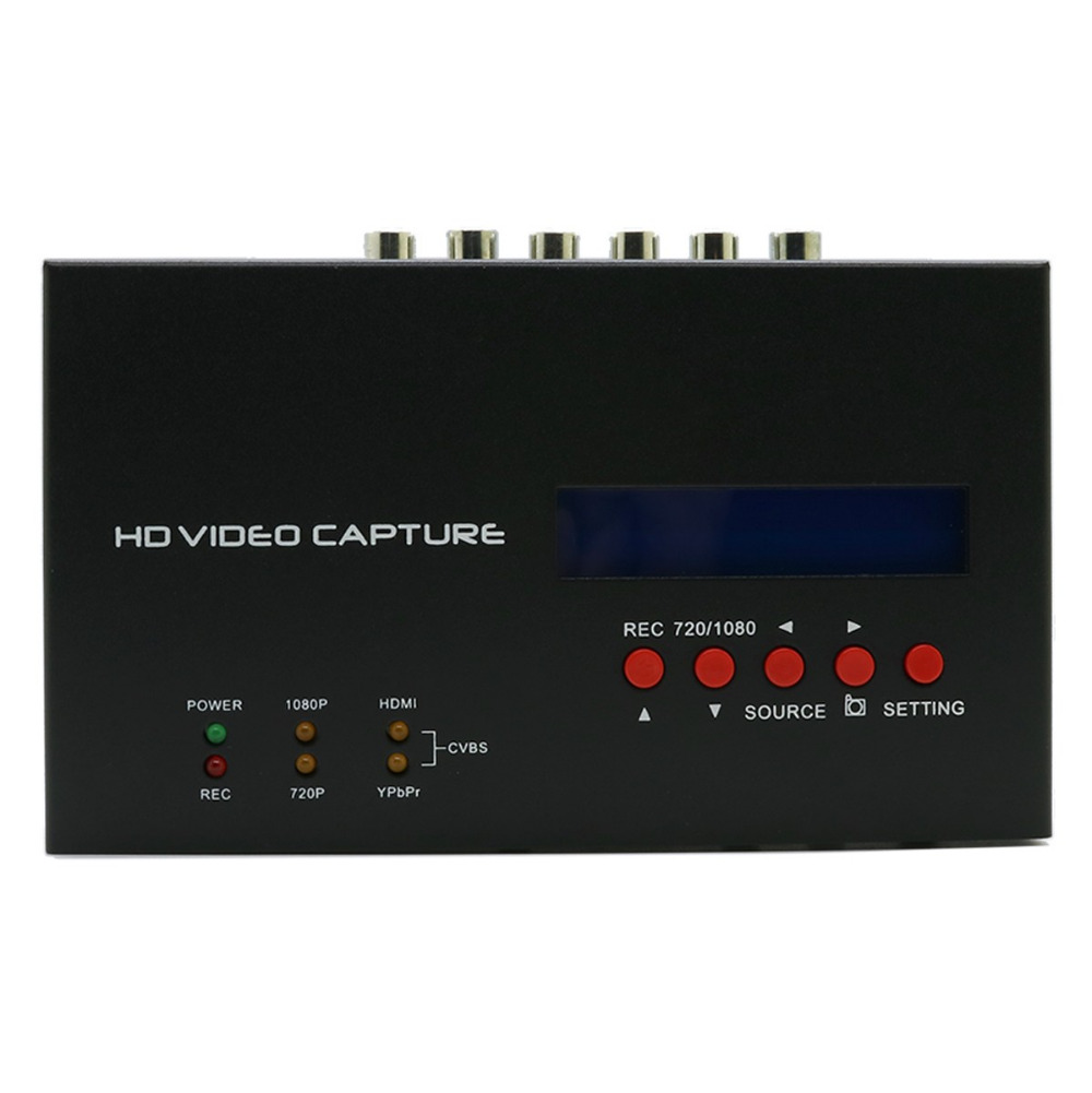 Ezcap283s 1080p HD video Capture HDMI Ypbpr CVBS Game Recorder Capture Support With Scheduled Recording for