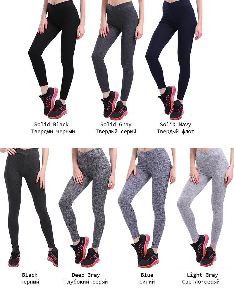 319de1b7f71899 NORMOV S-XL 3 Colors Casual Push Up Leggings Women Summer Workout ...
