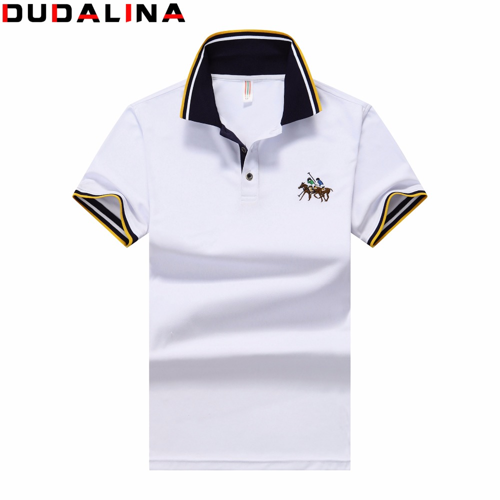 High Quality 2017 New Cotton Polo Shirt Mens Casual Polos