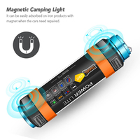 outdoor Camping Light IPX8 Waterproof USB Rechargeable LED Camping Light Camping Hiking Outdoor Cycling Backpacking accesssiores