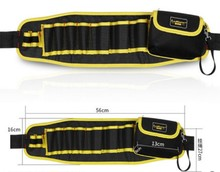 CAMMITEVER Multi-pockets Tool Bag Waist Electrician Tool Bag Organizer Pouch Tools Bag Organization Belt Waist Pocket 56*16cm стоимость