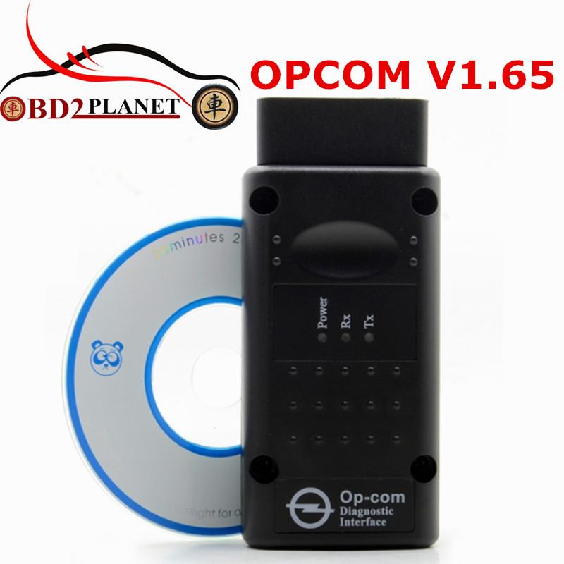Prix pour Haute Qualité OPCOM V1.65 OBD2 Op-com CAN-BUS Interface Pour OPEL Firmware V1.65 OP COM Avec PIC18F458 Puce Rapide gratuite