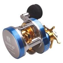 Licht Jigging Reel 10   1BB 6.8: 1 Bait Casting Reel Fishing Links of Rechts EVA Handvat Lokken Vissen Reel voor Saltwater