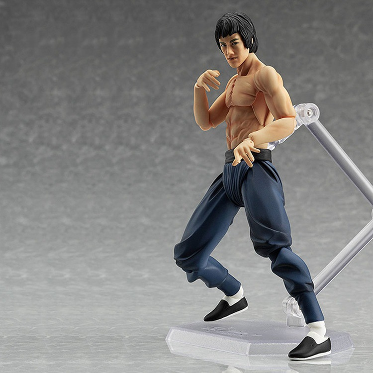 Movies <font><b>Figures</b></font> <font><b>Bruce</b></font> <font><b>Lee</b></font> Pvc <font><b>Action</b></font> <font><b>Figures</b></font> <font><b>Figma</b></font> 14cm Movable Toys Boys Gifts Collection Models Hot Toys Brinquedos