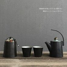 Japanese style ceramic kettle