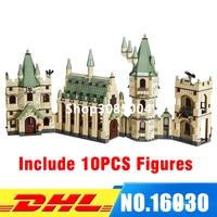 DHL IN Stock LEPIN 16030 1340pcs Harry Potter Hogwart S Castle Building Blocks Kit Set Building