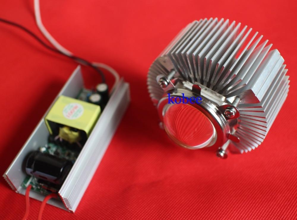 high power led light lens reflector heatsink cooler 100w led. Black Bedroom Furniture Sets. Home Design Ideas