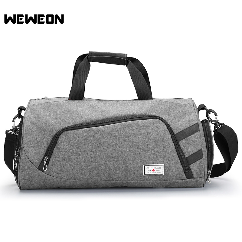 bc38f40c05c3 Cylinder Sports Gym Bag Men Woman Fitness Bags Durable MultifunctionTravel Handbag  Outdoor Professional Basketball Training Bag-in Gym Bags from Sports ...