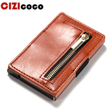 2019 New ID Card Holder Antitheft PU Leather Card Wallets For Men And Women Vintage RFID Blocking Credit Card Holders