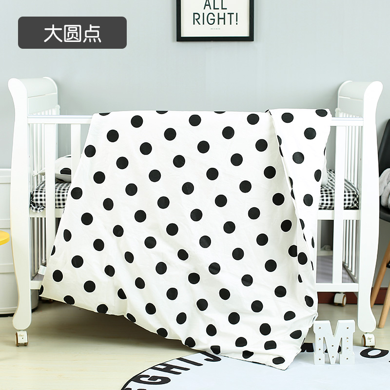With Filling lovely dot Crib Bedding Set Crib Baby Best Gift for Newborn Infant Cot bedcloth unpick and wash,Duvet /Sheet/PillowWith Filling lovely dot Crib Bedding Set Crib Baby Best Gift for Newborn Infant Cot bedcloth unpick and wash,Duvet /Sheet/Pillow