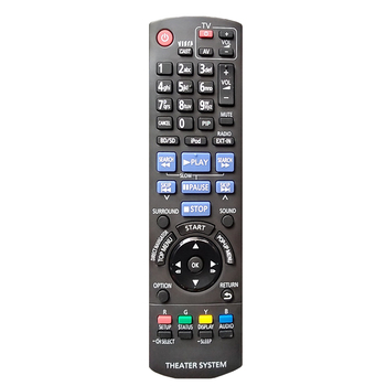 New Remote Control for Panasonic Blu-Ray Home Theater System N2QAKB000073 Sc-BTT750 Sc-BT222 BT228 Sa-BT222 SA-BT205 BTX77